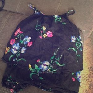 Floral Tank for Girls 10-12